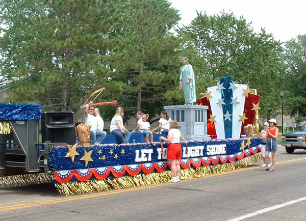 Links For Parade Floats And Decorating Fourth Of July Parade On